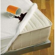 4bed mattress protector milton - white 120200