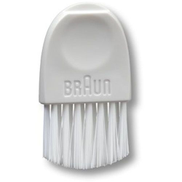 Braun Spare Part - Cleaning brush with opening tool for battery lid , White