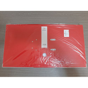 3A ملف مقوى PVC - 8 سم - أحمر - 10 حبات