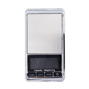Generic 300g 0.01g High Precision Backlight Electronic Scale Mini Pocket Jewelry Scale Silver & Black