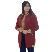 Smoky Egypt Reglan Sleeve Jacket With Lining - Orange