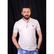 Generic Men's Short Sleeves Polo T-Shirt - White