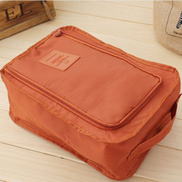 Generic Waterproof Shoes Storage Bags Women Men Dustproof Cover-Orange