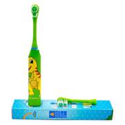 Generic Children Electric Toothbrush Cartoon Sonic Shock Children Kids Adult Home Cute Soft Hair Waterproof Cartoon Electric ToothbrushColor A