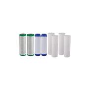 Generic 3 Stages Filter Cartridges - 8 Pcs
