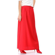 Ravin Side Pockets Basic Watermelon Maxi Skirt