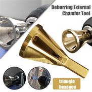 Generic Titanize Deburring External Chamfer Tool Remove Burr Repairs Tools For Drill Bit