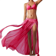 Fashion Women's Fashion Waist Skirt Korean Style Denim Skirt YE L