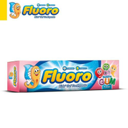 Fluroro Tooth Paste With Bubble Gum Flavor - 50 Gm