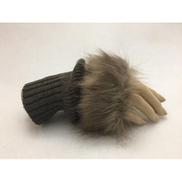 Generic Ziska - Cloth Gloves Fingerless Fur