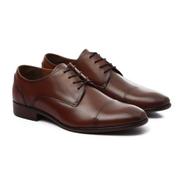 ALDO Classy Wing Up Leather Havana Men Shoes