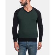 Andora Pullover V-Neck - Olive