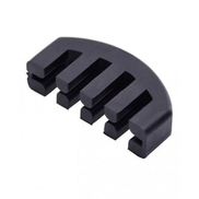 Generic Rubber Practice Violin Mute For All Sizes - Black