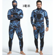 Generic High Quality 1101 Men 3MM Diving Suit Long Wetsuit Diving Suit Sleeve Full Body Sunblock Wetsuit For Underwater Sport Pooone