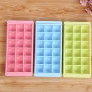 Generic Creative Diamond Ice Mold 18 Grids PP Plastic Ice Cube Tray With LidA430 Random