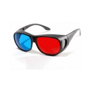 Red Blue 3D Glasses