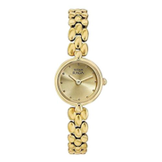Titan Raga Women's Champagne Dial Metal Band Watch - T2444YM08 2444YM08