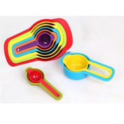 Generic Set Of 6 Measuring Spoons From 7.5 Ml To 1 Cup