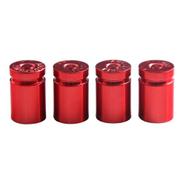 Generic 4Pcs Tire Valve Stem Cover Caps Aluminum Car Wheel Air