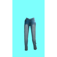 Generic Casual Jeans - Light Blue