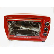 Akwrj Mini Oven With Grill - 45 L - Red