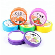 OBN Multi-flavored Cotton Wipes For Nail - 8 Boxes