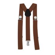 Generic Unisex Women Men Y Shape 3 Clip Elastic Suspenders Strap Adjustable Braces