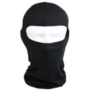 Dowin Motorcycle Full Face Mask For Sun Uv Protection - Black
