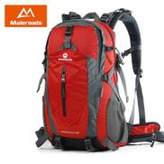 Generic 40L 50L Travel Backpack Men Women Trekking Backpack Waterproof Climb Mountaineering Camp Equip Hiking BackpackRed