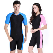 Generic The Best Sales Micofeel Retails Nylon Spandex UPF50+ Men Wetsuit Jellyfish Protect Diving Suit Long Surf Navy Wet SuitRed