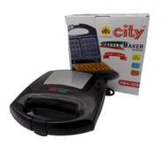 City HMA-1006 Granite Waffle Maker - 750W