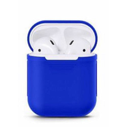 0 Generic Protective Silicone Skin AirPods Case - Blue