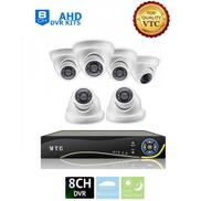 VTC AHD 8 Channels DVR + 6 Indoor Security Cameras CCTV
