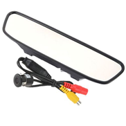 Generic TFT LED Rear View Mirror - 7 Inch With Camera