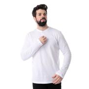 Andora قميص هينلي أساسي بأكمام طويلة - أبيض