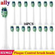 Generic 16pcs Replacement Toothbrush Heads Compatible With Philips Sonicare ProResults HX9024 Fits DiamondClean HealthyWhite EasyClean