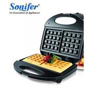 Sonifer SF-6043 Waffle Maker - Black