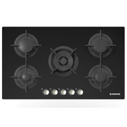 Hoover HGV95SMWCGB Built-In Hob - 5 Gas Burners