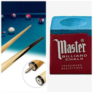One Detachable Billiard Stick Us Game And One Cue Chalk