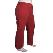 La Marui Pajama Pants, long - Dark Red