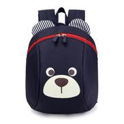 Generic Children Anti-lost Backpack Toddler Cartoon School BagDark Blue