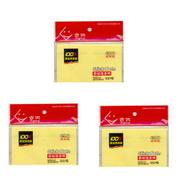 0 Sticky Notes - 127 X 76mm - 3 Pcs