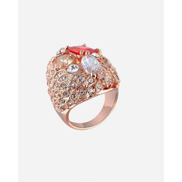 Generic Austrian Crystals Ring - Gold