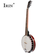 Irin Banjo With 6 Strings - Brown