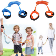 Generic Toddler Kids Safety Harness Adjustable Child Wrist Leash Anti Lost Link Children Belt Traction Rope Wristbands BandOrangenbsp2M