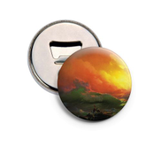 Generic Magnetic Button Pin Bottle Opener - The Ninth Wave