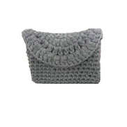 Generic Women Handmade Crochet Clutch - Grey