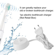 Generic 220V Replacement Electric Toothbrush Charger Model 3757 Suitable For Braun Oral-b D17 OC18 Toothbrush Charging Cradle