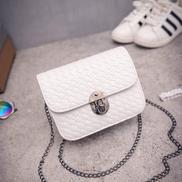 Fashion Chain Handbags Tide Small Square Package Women Shoulder Bag Messenger BagWhite