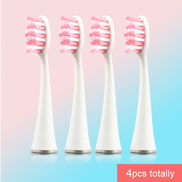 Generic 4pcs lot Replacement Brush Head For SG986 SG987 Super Soft Dupont Bristles Electric Toothbrush Heads Whiten Teethwhite